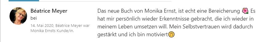 Referenz Monika Ernst