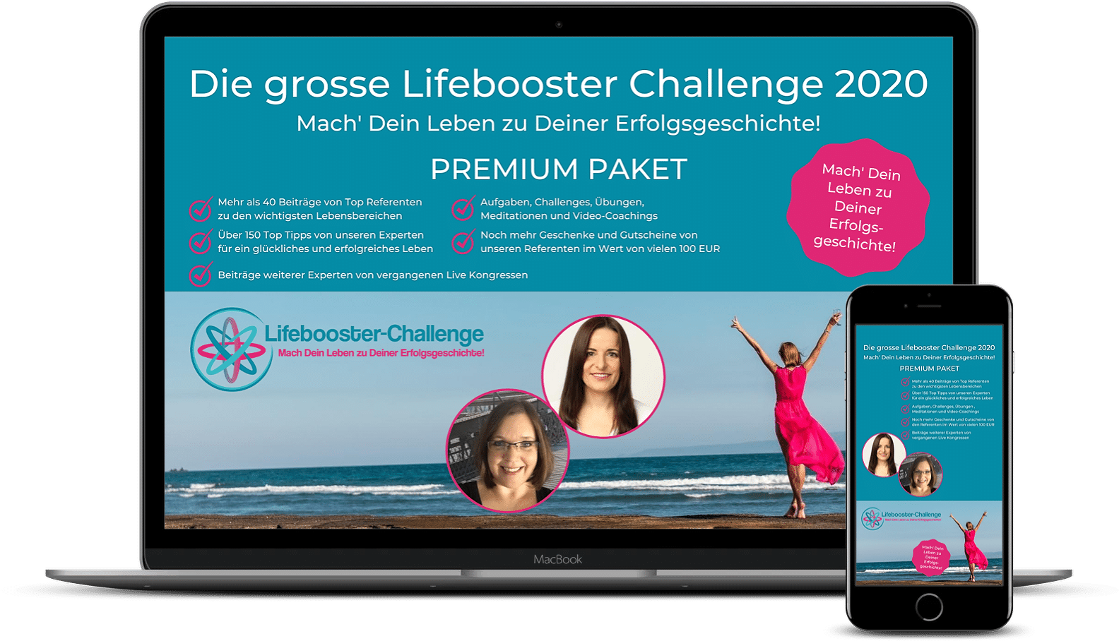 Lifebooster Challenge Packages