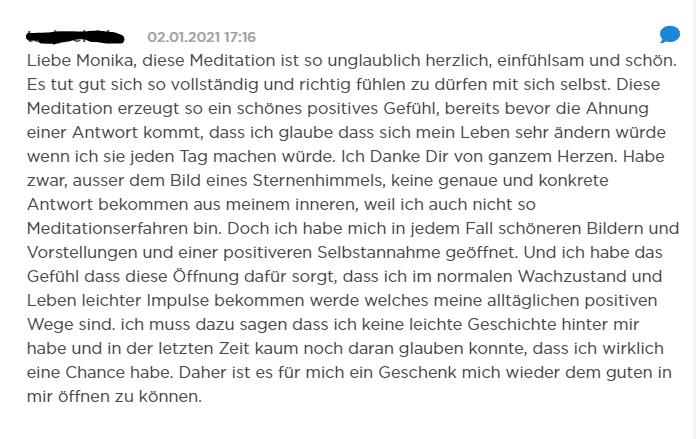 Meditation Monika Ernst
